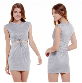 Women Casual Sleeveless Party Evening Cocktail Short Mini Dress