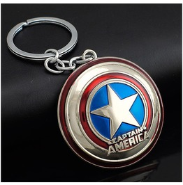Captain America Key Rings Keychain Avengers Marvel Comics Super Hero Gift