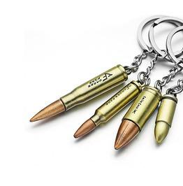 Gun Bullet Keyrings Keychain Key Holder