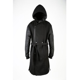 Jacket Sleeve Hooded Coat