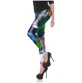 New Women's Skinny Printed Leggings Stretchy Sexy Jeggings
