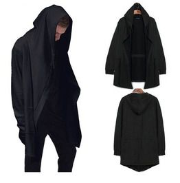 Men's Huge Hooded Cardigan Cloak