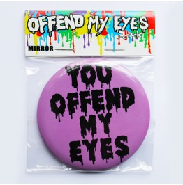 Offend My Eyes Purple Pocket Mirror You Offend My Eyes Clothing Handbag New