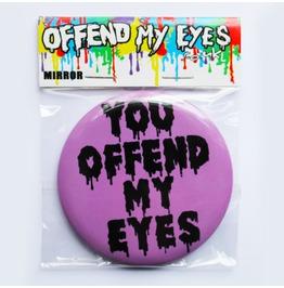 Offend My Eyes Purple Pocket Mirror You Offend My Eyes Clothing Handbag New