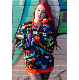 Suicide Jacket Coat By Offend My Eyes Zombie Wrists Xxs,Xs,S,M,L,Xl,2 Xl,3 Xl