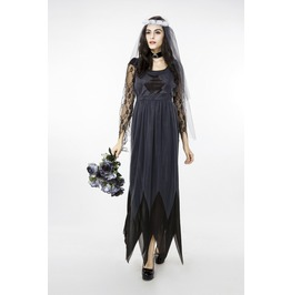 Corpse Bride Vampire Witch Halloween Costumes Dresses