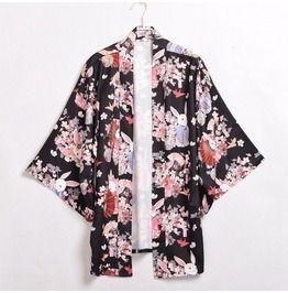 Bunny Kimono Jacket Or Shorts
