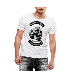 Bad To The Bone T Shirt Cradle To The Grave Rancid Nation Cotton Tee