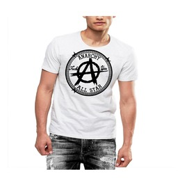 Anarchy All Star Punk Rock T Shirt Rebel Life Cotton Tee By Rancid Nation