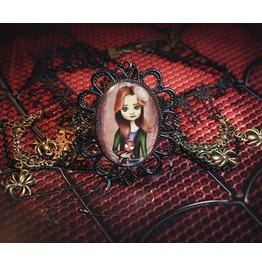 Mary Jane Watson Spider Man Necklace