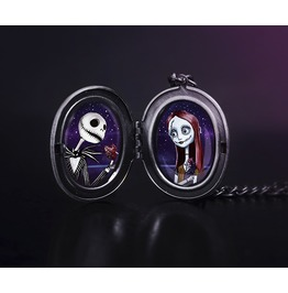 Jack And Sally Locket Necklace