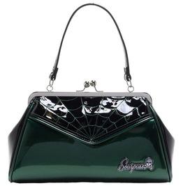 New Spiderweb Backseat Baby Green Purse/Handbag