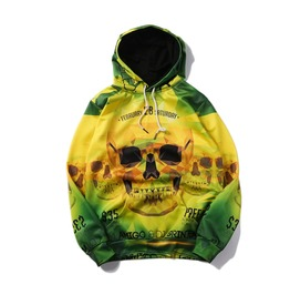 New Arrival Skull Printed Women/Men Hoodies