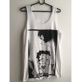 The Cure Robert Smith Betty Boop Goth Fashion Vest Tank Top M