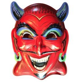 Fun House Devil Vac Tastic Plastic Mask