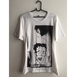 The Cure Robert Smith Betty Boop Goth Fashion T Shirt