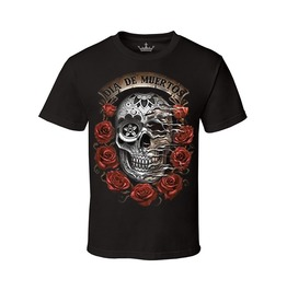 "Men's ""Dia De Muertos"" 100% Cotton Tee"