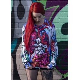 Be Who You Are On The Inside Jumper Top Unisex Xs S M L Xl Xxl 2 Xl 3 X