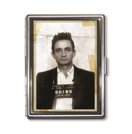 Johnny Cash Mugshot Cigarette Case