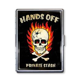 Hands Off Private Stash Cigarette Case