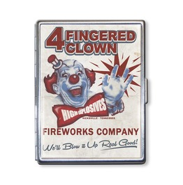 Four Fingered Clown Cigarette Case