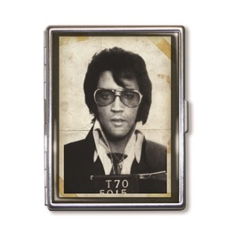 Elvis Presley Mugshot Cigarette Case