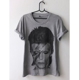 David Bowie Fashion Glam Rock 70's T Shirt M