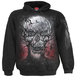 Spiral Mens Dark Roots Hoody Black