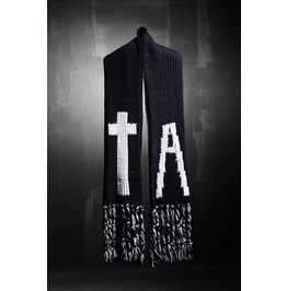 White Cross A Scarves