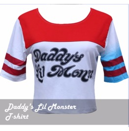 Harley Quinn Daddy's Lil Monster Shirt
