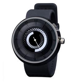 Mens Creative Fire Design Quartz Watch