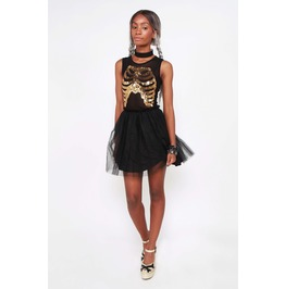 Iron Fist Clothing Wishbone Party Dress