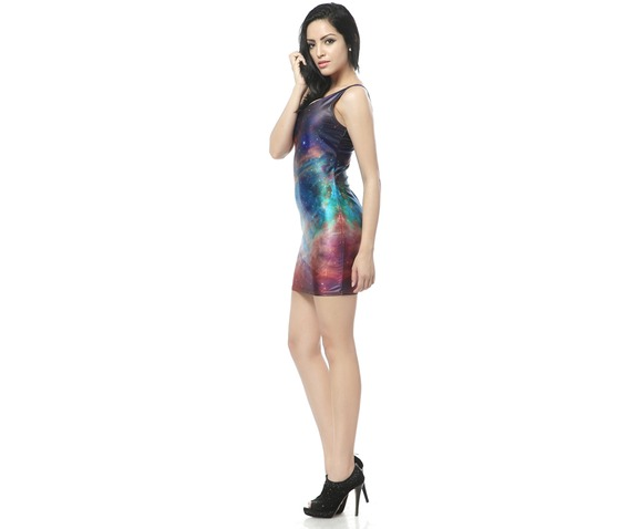 Rainbow Color Bodycon Dress Tank Tops_Dresses_4.jpg