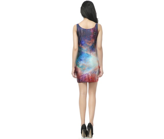 Rainbow Color Bodycon Dress Tank Tops_Dresses_2.jpg