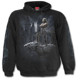 Men,S New Cotton Black Undead Horror Hoodie