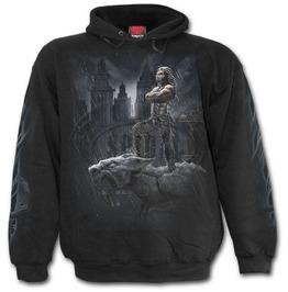 Men,S New Cotton Black Undead Horror Hoodie