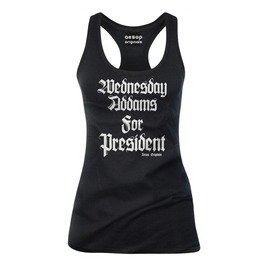 Wednesday Addams For President Tank Top