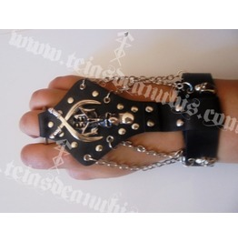 Skull Pirate Leather Bracelet