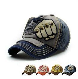56651b4ab9e Unisex Baseball Cap Letter Fashion Vintage Caps Rivet Hat. More colors