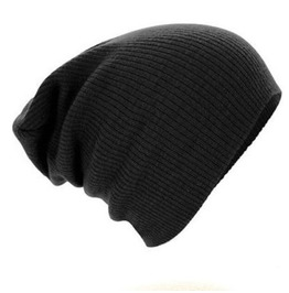 Unisex Winter Knitted Beanies Caps Soft Warm Ski Beanies