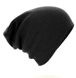 Unisex Winter Knitted Beanies Caps Soft Warm Ski Beanies