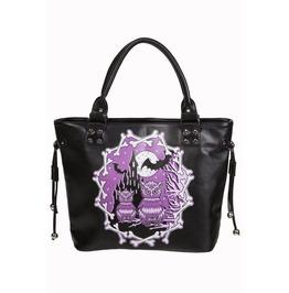 """""""Secret Obsession"""" Owls & Castle Handbag School Shoulder Bag"""