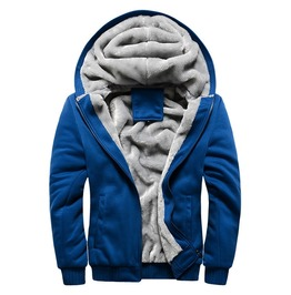 Men's Hooded Sweatshirts Plus Size Wool Winter Men Hoodies Sweatshirt