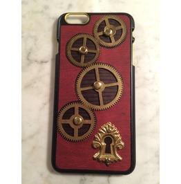 Igearz Apple Iphone 6 6s Plus Steampunk Neo Victorian Case Gears Keyhole