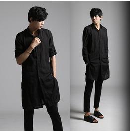 New Designer Men Long Casual Shirts