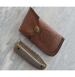 Hand Made Damascus Pocket Knife
