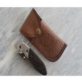 Handmade Damascus Pocket Knife