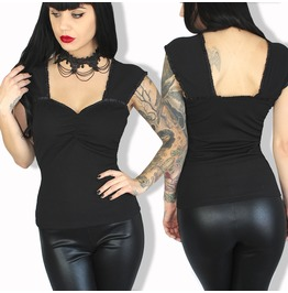 Sexy Pinup Rockabilly Fesitival Vtg Inspired Gothic Plus Sizes Tank Top