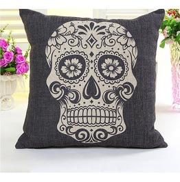 Sugar Skull Decorative Pillow Free Shipping!