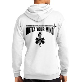 """Adult Osd """"Outta Your Mind"""" Hoodie"""